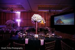 Marvelous Indian wedding flower centerpiece decoration.