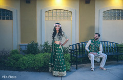 Indian fairy tale affair photo session