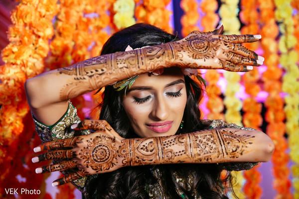 Marvelous indian bridal mehndi