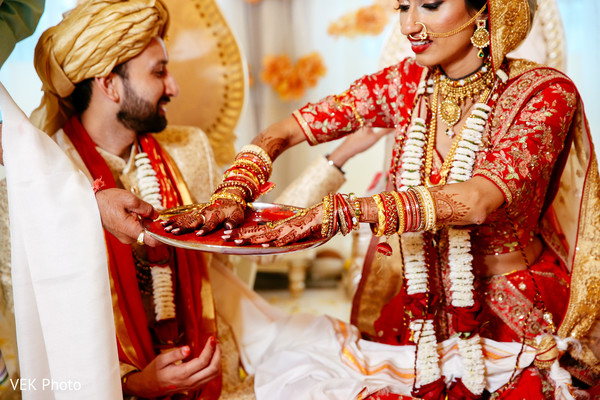 indian couple portrait,indian wedding ceremony