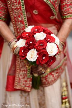 Indian bridal bouquet