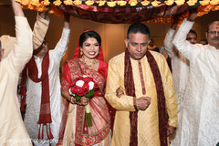 See this lovely indian bride making her entrance