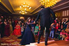 Marvelous Indian wedding reception capture.