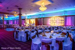 Fabulous indian wedding reception decor
