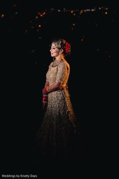 Enchanting Indian bride capture.