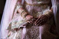 Dazzling indian bride's wedding style
