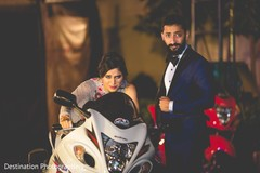 Sensational outdoor themed indian couple's photoshoot