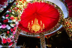 Creative mandap decor