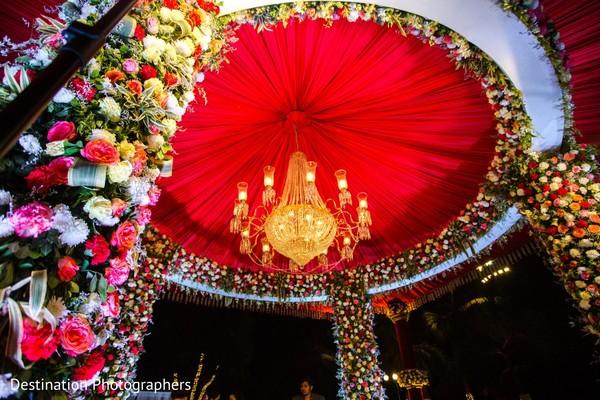 indian wedding ceremony,indian wedding ceremony floral and decor,mandap decor