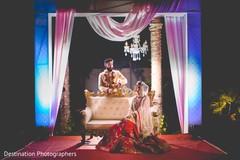 Maharani and Raja wedding portrait.