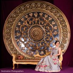 Ravishing indian bride's reception style