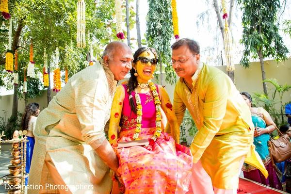 indian wedding gallery,haldi ceremony,indian bride