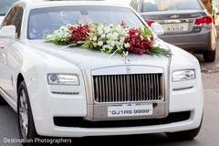 Fantastic indian wedding car