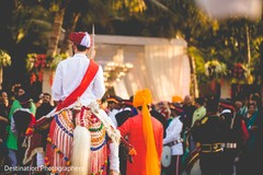 See this indian groom riding baraat horse