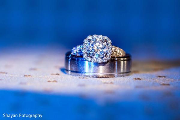 Stunning Indian engagement ring portrait.