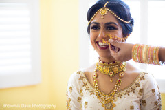 Marvelous Indian bride's Nose ring.