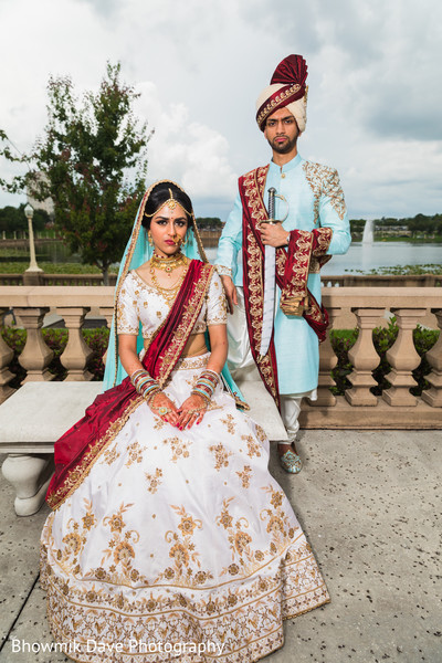 indian bride's fashion,indian bride hair and makeup,indian wedding fashion,indian bride and groom