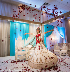Ravishing Indian bride's photography.