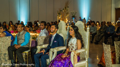 Adorable Indian bride and groom laughing capture.