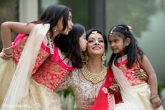 Dreamy indian bridesmaids photo shoot