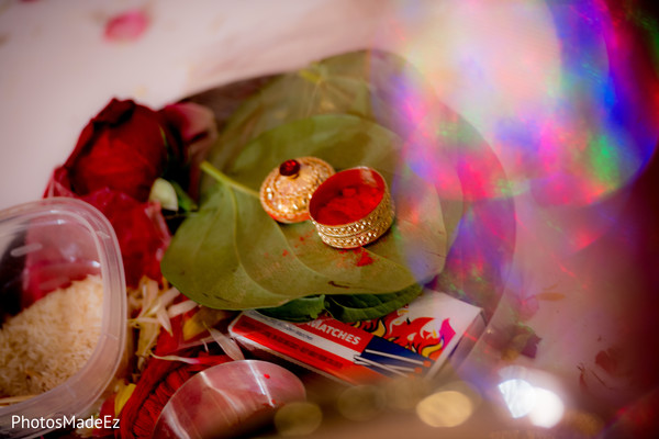 Traditional items on indian ceremony
