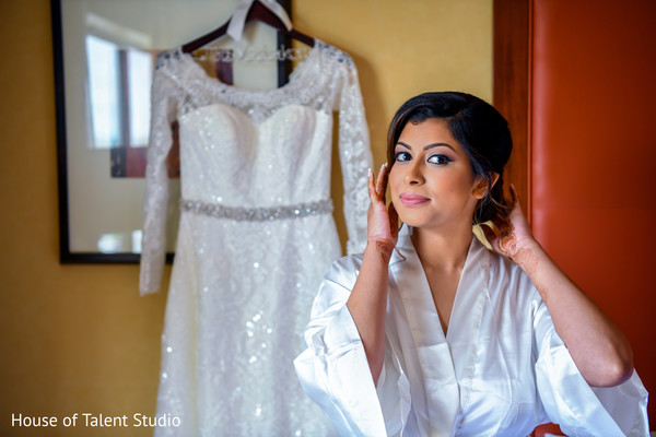 indian bride,indian bridal hair and makeup,indian wedding fashion