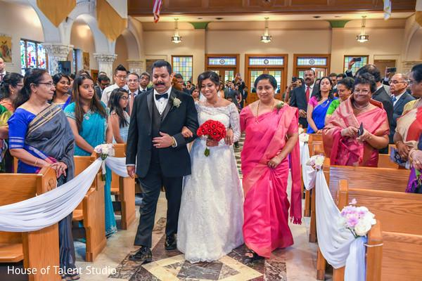 Glamorous indian wedding ceremony.