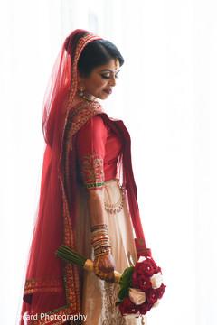 Stunning indian bride lengha