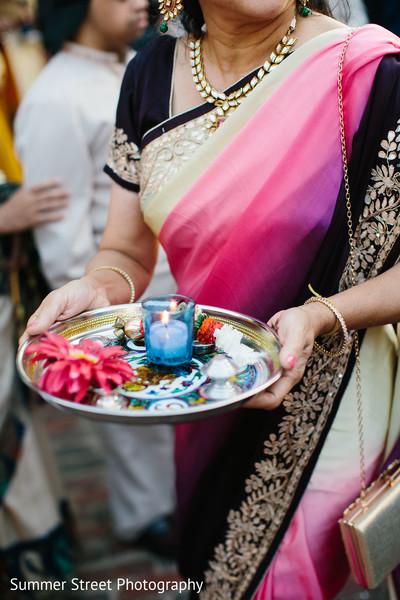 Joyful sangeet ritual