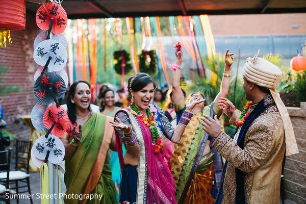 indian bride,sangeet ceremony,indian wedding ceremony