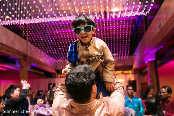 Sangeet guests dancing photography