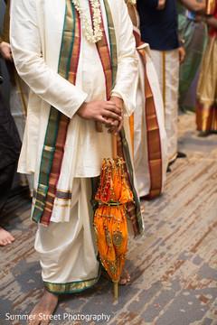 Indian groom portrait.