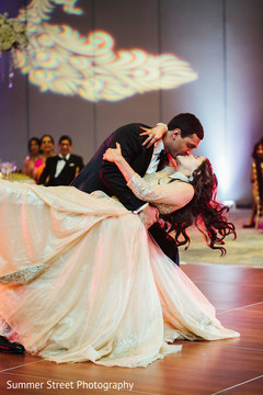 Romantic indian wedding first dance