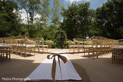 Marvelous Indian wedding ceremony setup.
