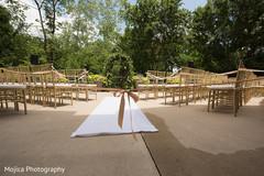 Marvelous seats setup for wedding ceremony.