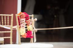 Indian Ceremony garland capture.