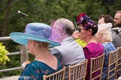Indian wedding ceremony guests capture.