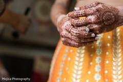 Incredible Indian bride's henna art.