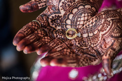 Marvelous Indian wedding rings capture.
