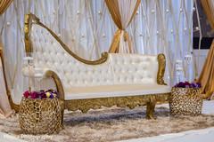 Delightful Indian wedding reception  mandap.