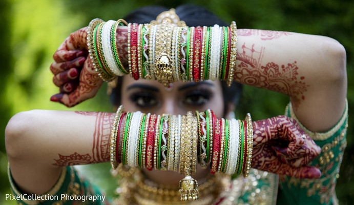indian wedding gallery,outdoor photography,indian bride,bridal bangles