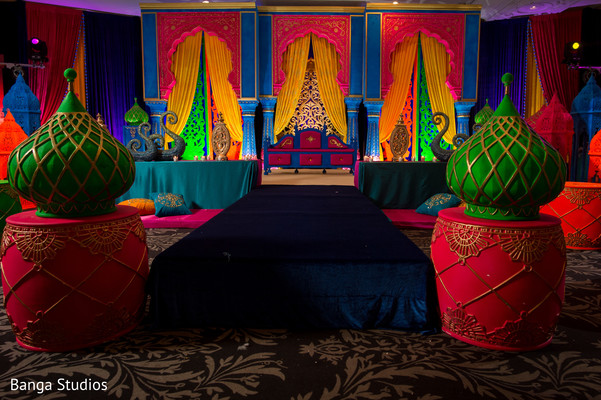 Mehndi party decor