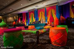 Marvelous mehndi party decor