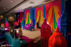 Phenomenal mehndi party venue decor