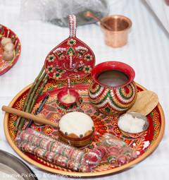 Traditional haldi items