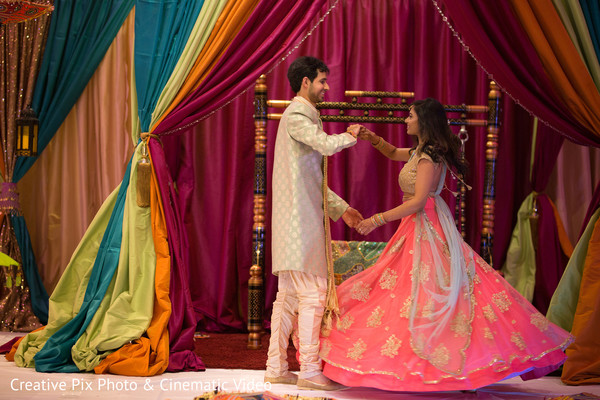indian wedding gallery,pre-wedding celebration,sangeet,indian bride and groom