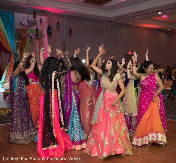 Sangeet night celebration