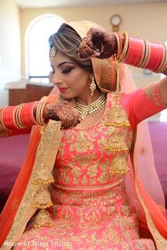 Amazing Indian bridal Kalire capture.