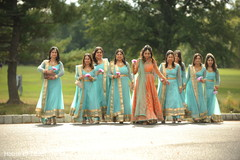 Phenomenal indian bride and bridesmaids photo shoot.
