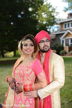 Amazingly heartfelt Indian bride and groom photo session.
